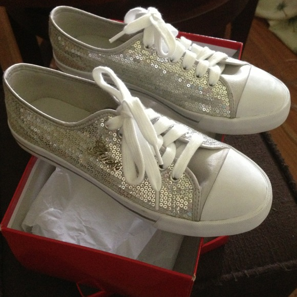 Silver Shoes Size
