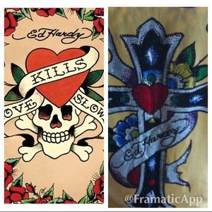 Ed Hardy long sleeve top