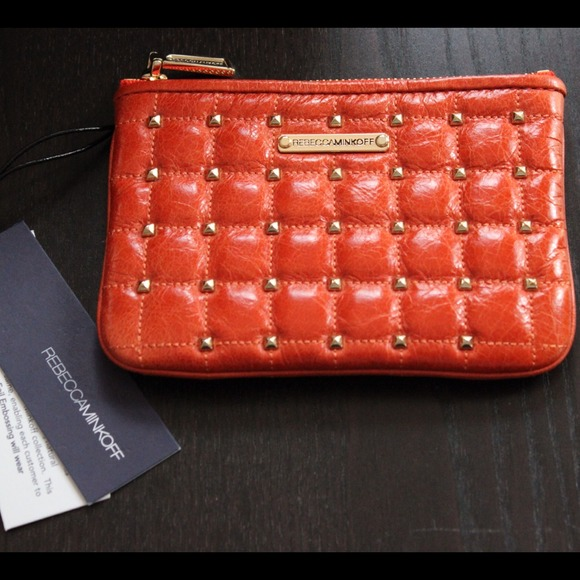 NWT Rebecca Minkoff Orange Wallet