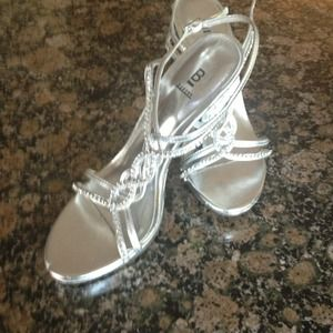 Bakers Silver Formal shoes