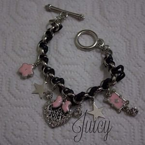 Juicy charm bracelet
