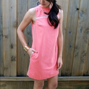 Robert Rodriguez Coral Dress