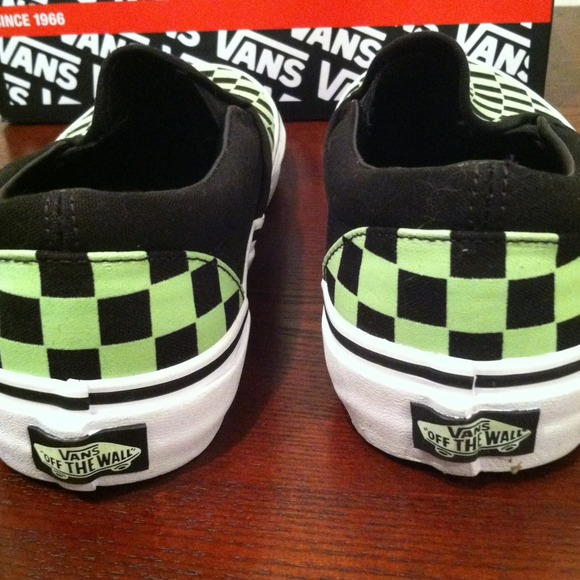 Vans Des Femmes De Checkerboard Slip-on Chaussures zHxD8aAow