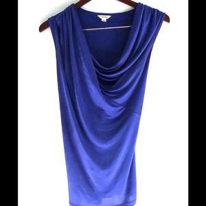 Calvin Klein Royal Blue Toga