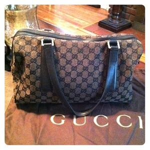 AUTHENTIC GUCCI BOSTON BAG