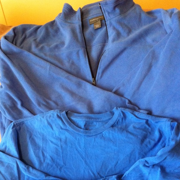 60% off saddlebred Tops - Fleece pullover from Marcy's closet on ...