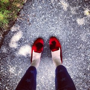 🍭Host Pick🍭Marc by Marc Jacobs red loafers