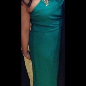 BCBG Emerald Green Formal Dress