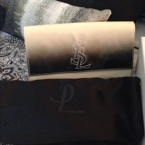 Sharing Yves Saint Laurent Ombré Clutch
