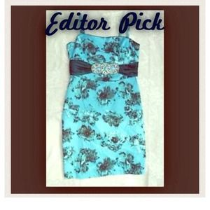 😱PM EDITOR SHARE😱 Marciano floral cocktail dress