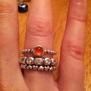 Jewelry - Pandora rings💍 and Bracelet bundle