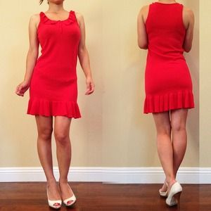 Dresses & Skirts - Beautiful red knit dress