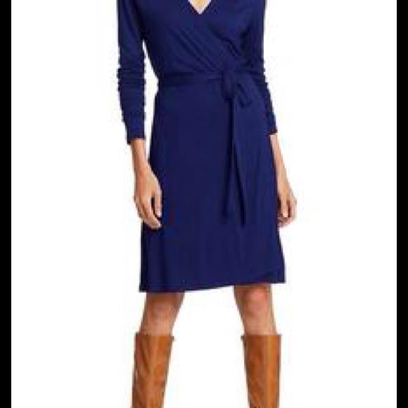 64% off Old Navy Dresses &amp Skirts - Royal blue wrap dress - size L ...