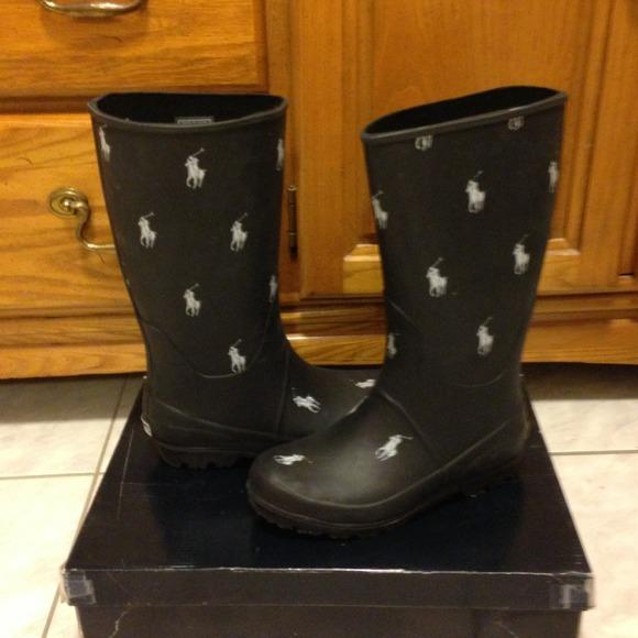 53bbfe5cf9b Polo- Ralph Lauren rain boots