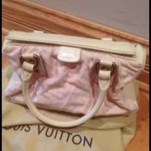  Authentic Limited Edition a Pink LV handbag