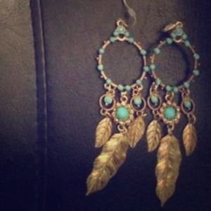All The Rage Dreamcatcher Earrings