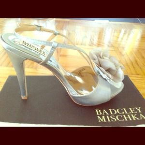 "Badgley Mischka ""Zabrina"" Satin Sandal"