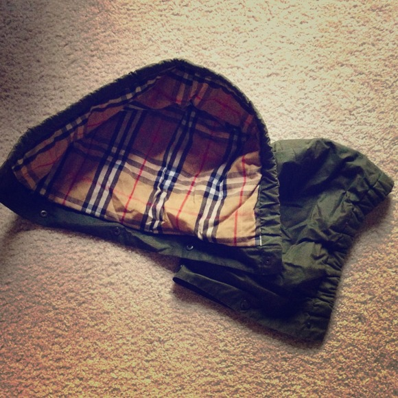 Burberry Jackets Amp Coats Replacement Hood For Waxed