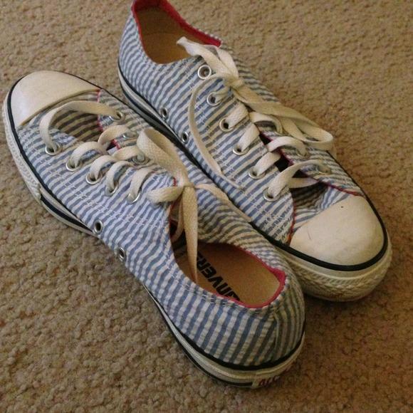 0149911ee0a4 Converse Shoes - Seersucker converses