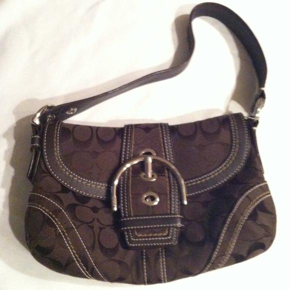 Coach Bags Chocolate Brown Handbag Poshmark