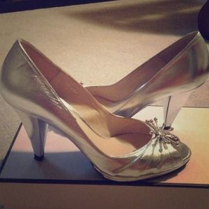 Silver Lulu Guinnes Lily shoes