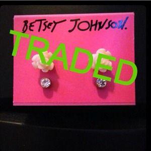 Betsy Johnson earring bundle