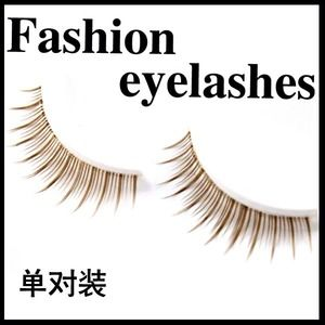 Other - Light brown mocha faux lashes