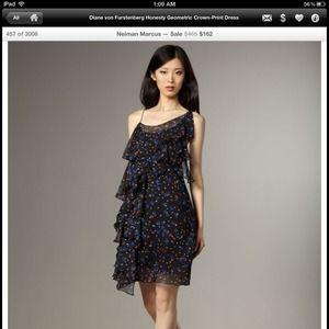 DVF dress
