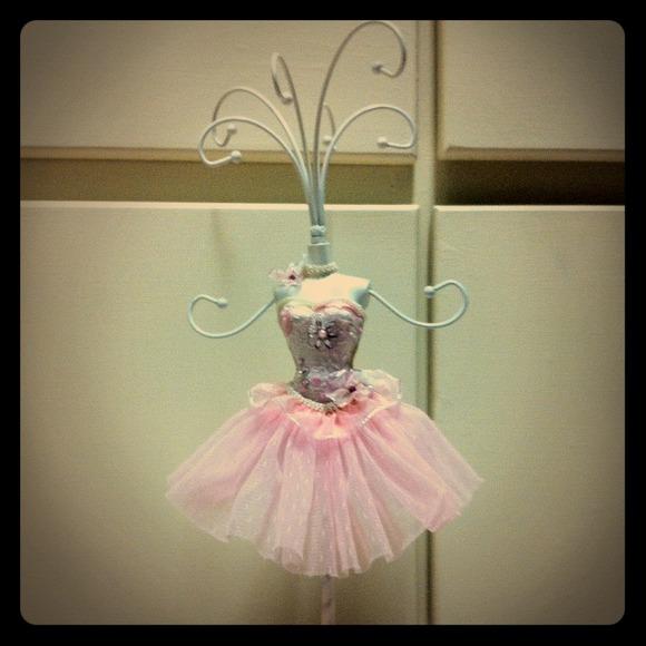 44 off Jewelry Pink Ballerina Mannequin Organizer Stand Poshmark
