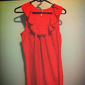 EUC Forever21 Red Dot Dress size L