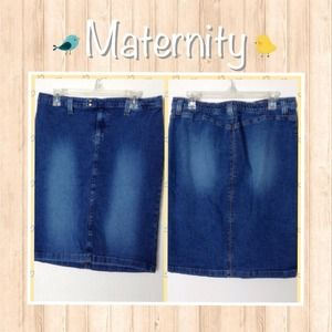 Knee Length MATERNITY Skirt