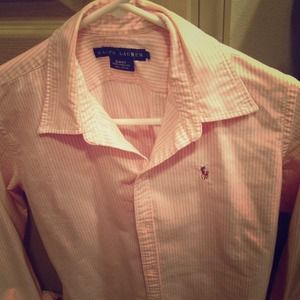 SOLD Pink Ralph Lauren Polo women's