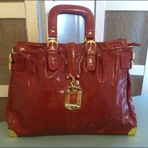 Gorgeous Burnt Orange/Red Tote