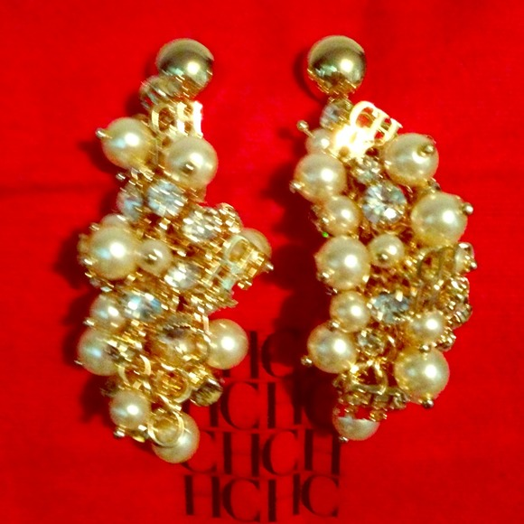Carolina Herrera Jewelry Ch Earrings Poshmark