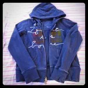 GAP zip up sweatshirt
