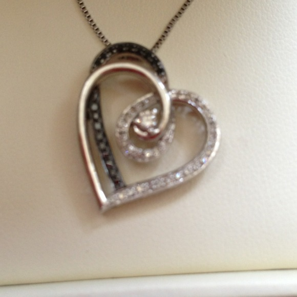 Tiffany Co Jewelry Jared Diamond Heart Necklace Poshmark