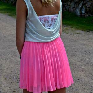 Skirts - Neon Pink Skirt