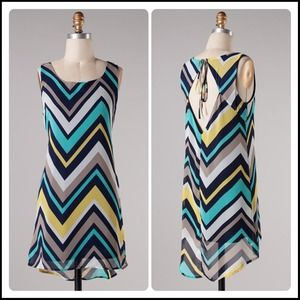 Chevron summer dress