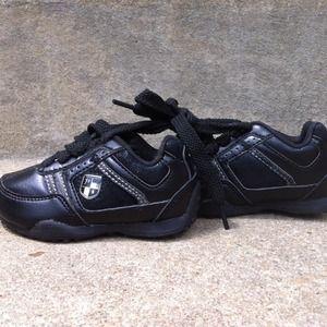 LN POLO Ralph Lauren black baby shoes size 5
