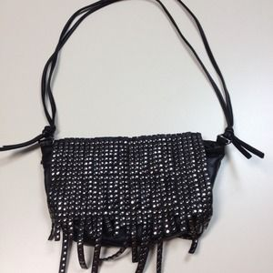 REDUCED: Studded Black Crossbody Bag