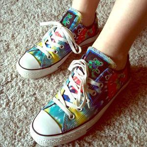 8e8bffcd0e44 Converse Shoes - 🌻SOLD🌻Grateful dead tie dye converse size 7
