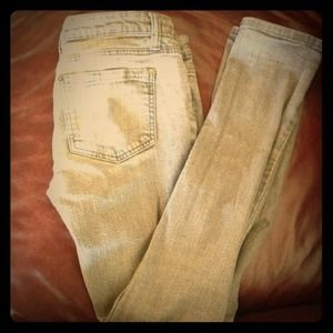 Forever 21 Denim - Light grey skinny jeans !