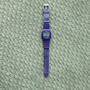 Purple timex watch