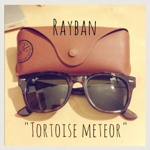 Ray-Ban Accessories - Rayban Meteor Tortoise Sunglasses