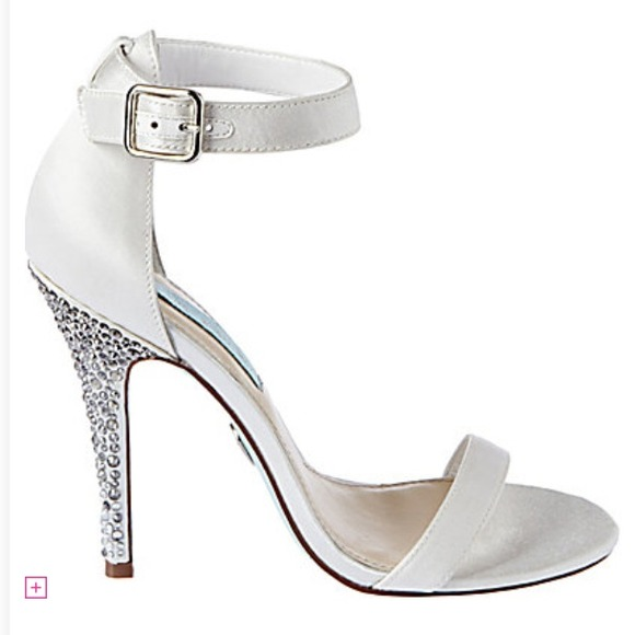 Wedding Shoes From Blue By Betsey Johnson