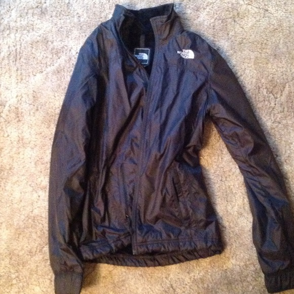 73% off North Face Outerwear - North face fleece lined rain jacket ...