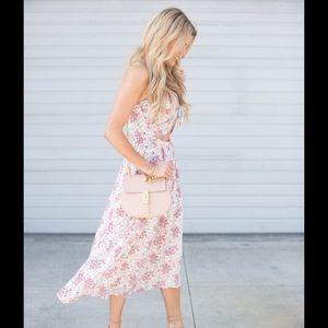 Dresses & Skirts - 🎉Host Pick🎉 Pink Floral high low dress
