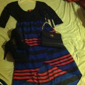 Dresses & Skirts - Bold sexy asymmetrical dress