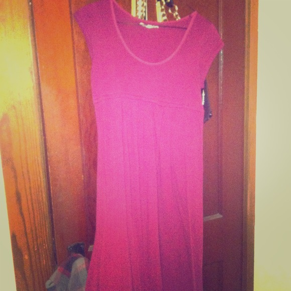 Lucky Brand Dresses - Reddish/burgundy dress-ON SALE!!!