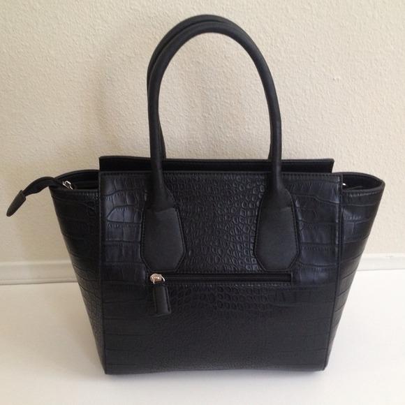 Faux Alligator Handbag
